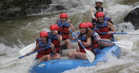 rafting fleuve costa rica voyage