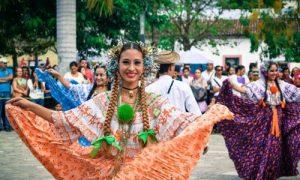 Danse traditionel Costa Rica