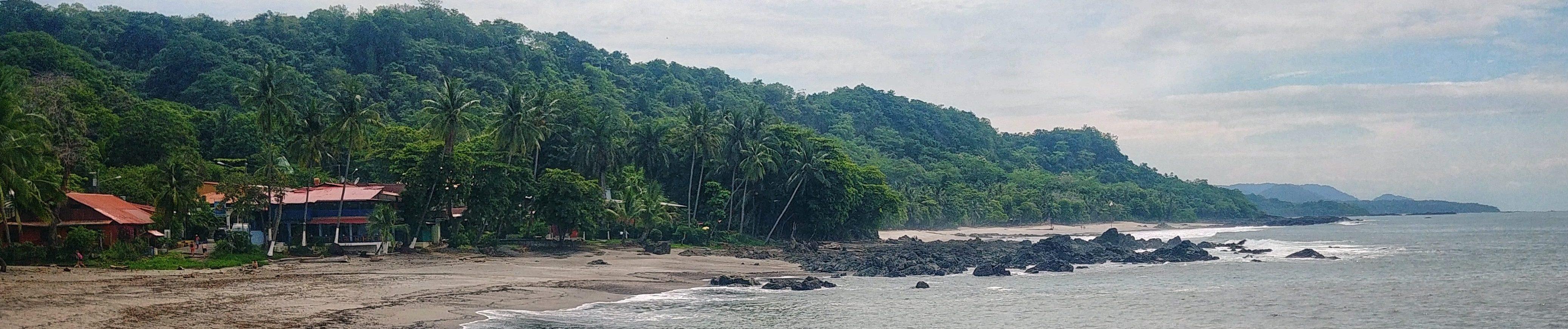 montezuma plage sud de Nicoya costa rica voyage sable surf vagues