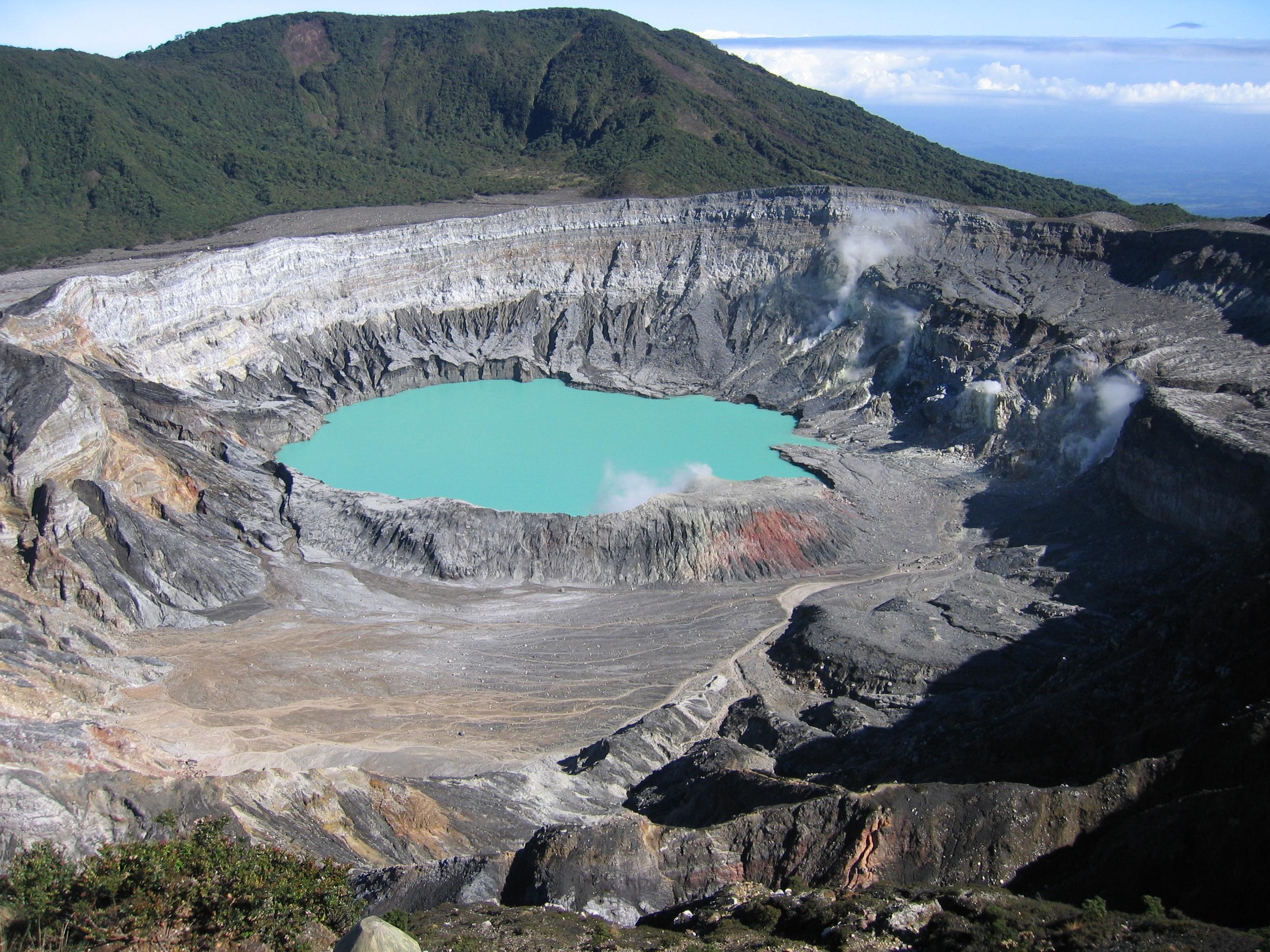 Cratère Poas costa rica voyage