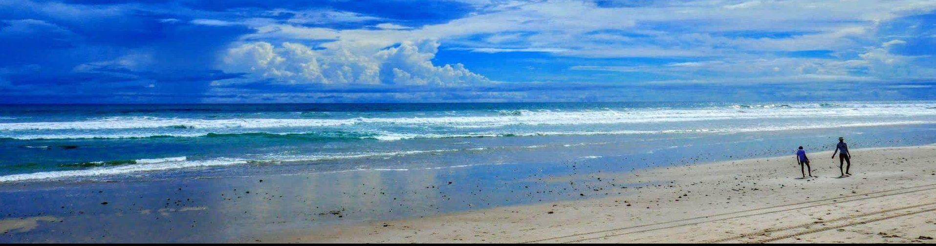plage sable blanc costa rica voyage santa theresa sud de Nicoya