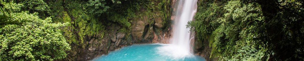 Cascade Rio Celeste Tenorio Costa Rica Voyage