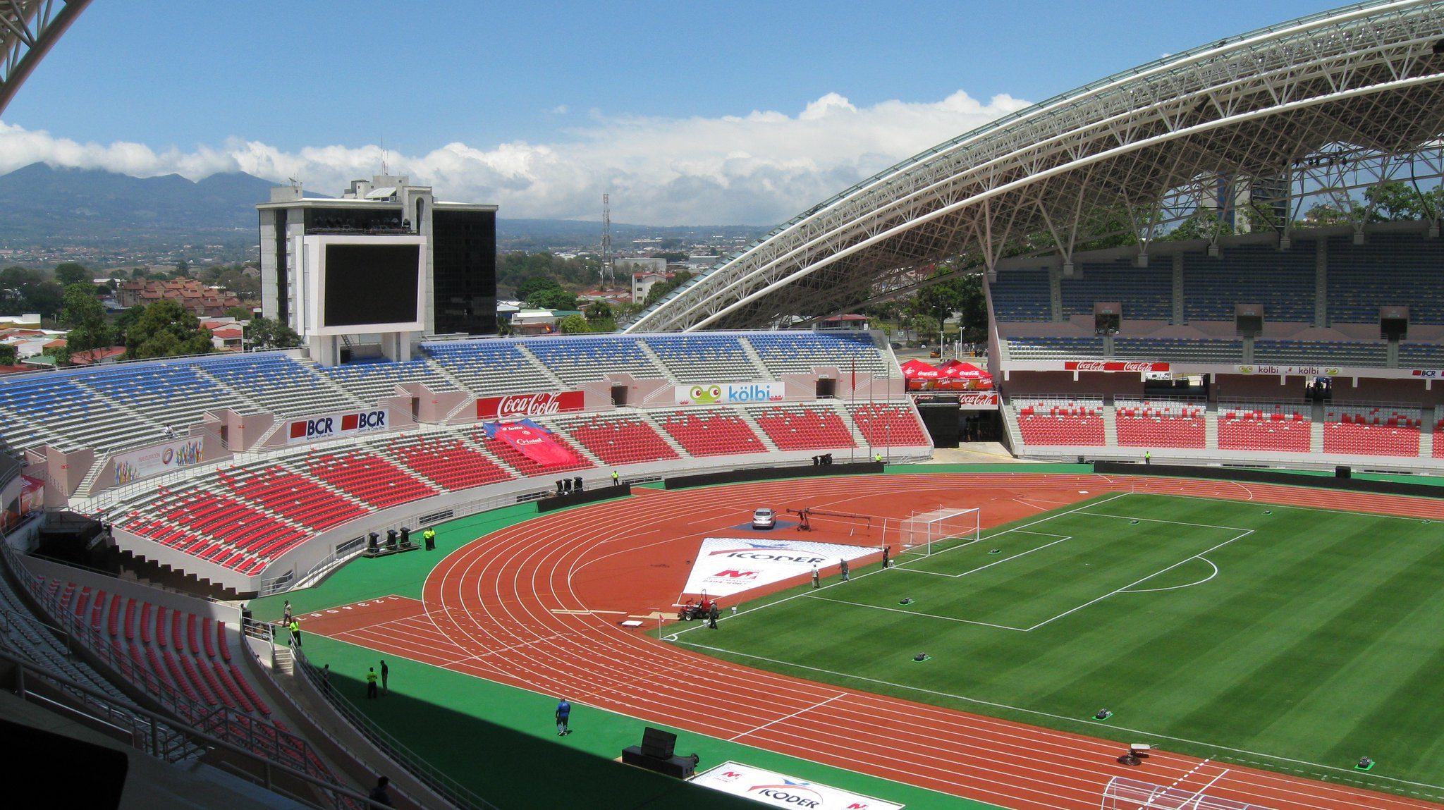 Stade national football au costa rica voyage