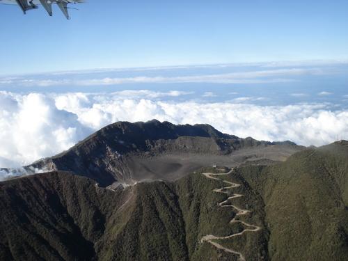 volcan turrialba costa rica voyage agence de voyage